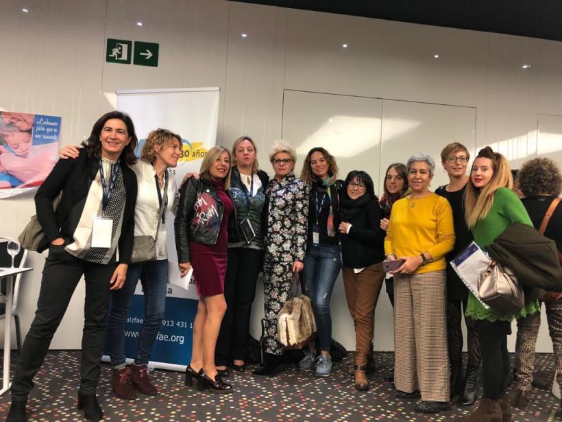 AFAMI en el Congreso de Alzheimer Europa en Barcelona
